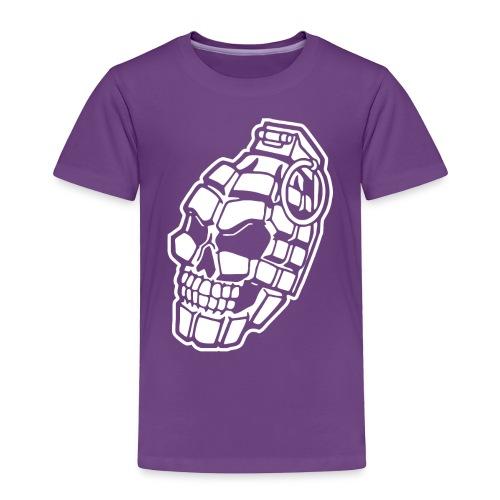 Skull Grenade - Toddler Premium T-Shirt