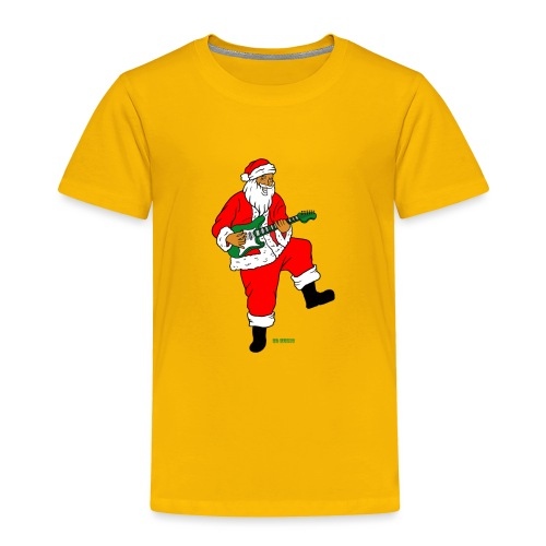 santa clause guitar - Toddler Premium T-Shirt