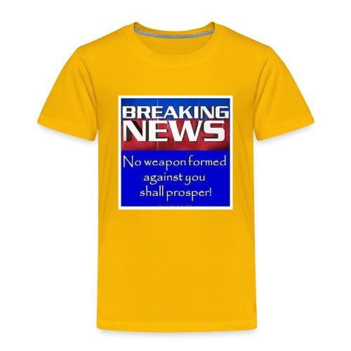 Isaiah 54:17 - Toddler Premium T-Shirt