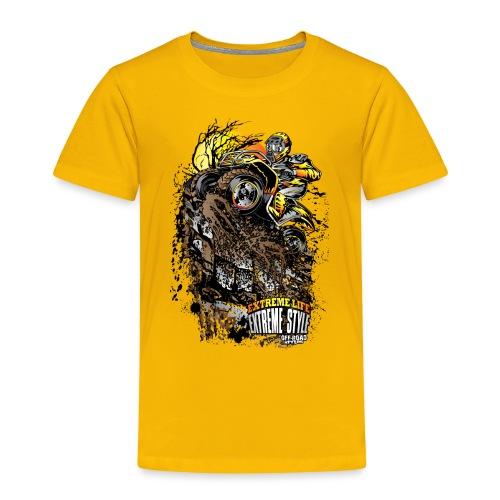 ATV Crawler Orange - Toddler Premium T-Shirt