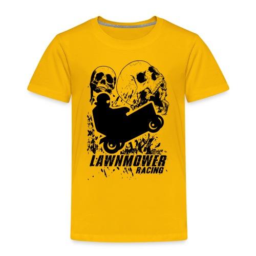 Lawnmower Race Cranial Scream - Toddler Premium T-Shirt