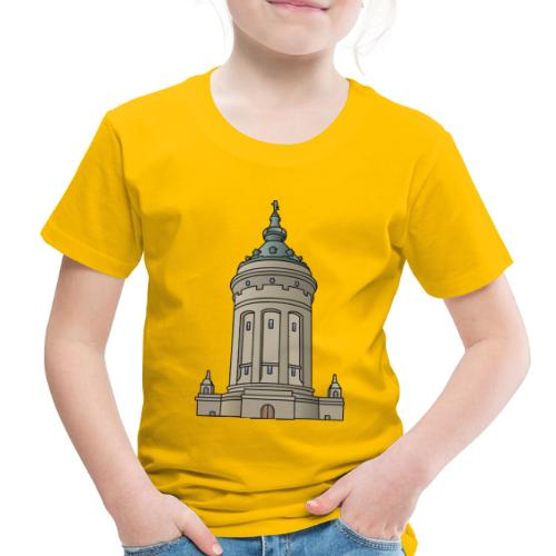 Mannheim water tower - Toddler Premium T-Shirt