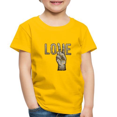 Peace Love - Toddler Premium T-Shirt