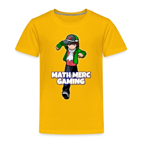 Math Merc Gaming - Toddler Premium T-Shirt