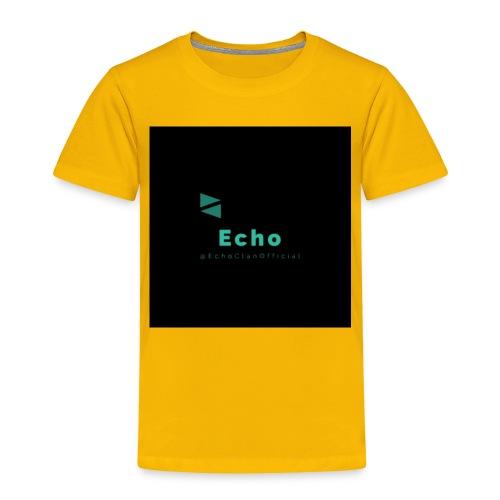 Echo Clan Offical Logo Merch - Toddler Premium T-Shirt
