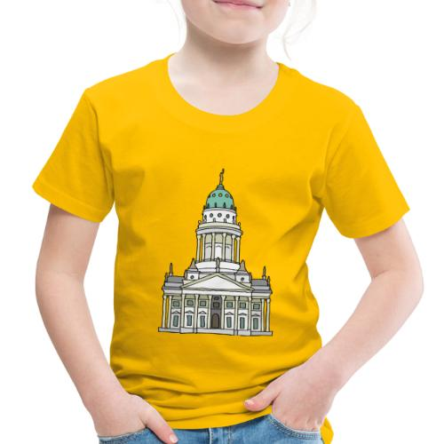 French Cathedral Berlin - Toddler Premium T-Shirt