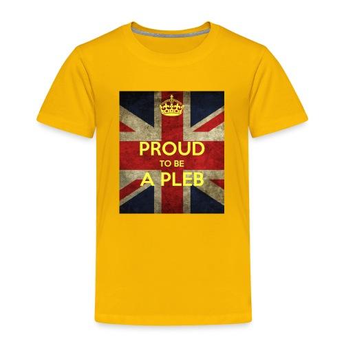 proud-to-be-a-pleb - Toddler Premium T-Shirt