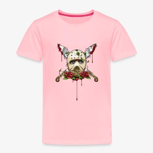 Exclusive Jason Vorhees Xay Papa edition Mask - Toddler Premium T-Shirt