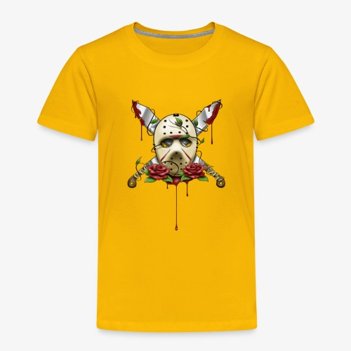 Exclusive Jason Vorhees Xay Papa edition Mask - Toddler Premium T-Shirt