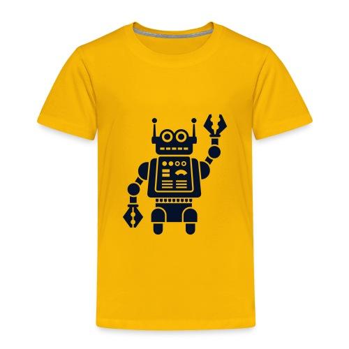 Robot 1 - Toddler Premium T-Shirt