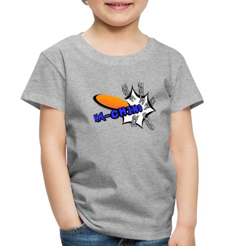 Disc Golf Pop Art Banging Chains Shirt - Toddler Premium T-Shirt