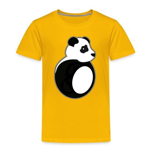 Tan Panda - Toddler Premium T-Shirt