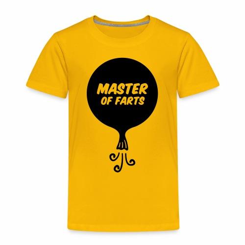 Master of Farts - Toddler Premium T-Shirt