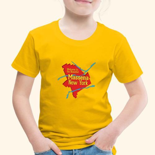 Massena NY Red - Toddler Premium T-Shirt