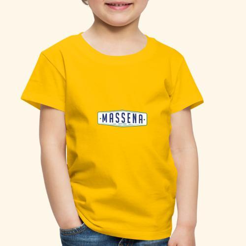 Massena Plate - Toddler Premium T-Shirt