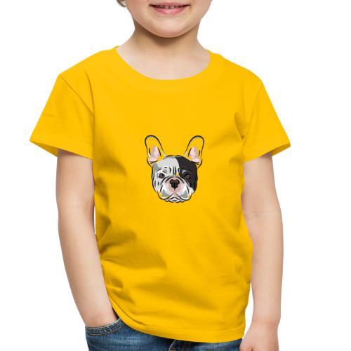 pngtree french bulldog dog cute pet - Toddler Premium T-Shirt