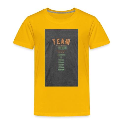 Team 10JR official - Toddler Premium T-Shirt
