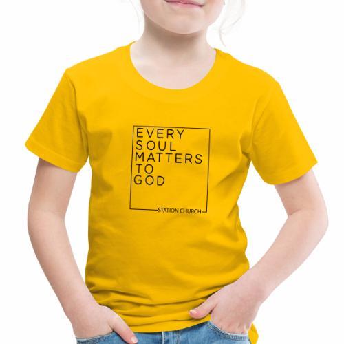 ESMTG Black - Toddler Premium T-Shirt