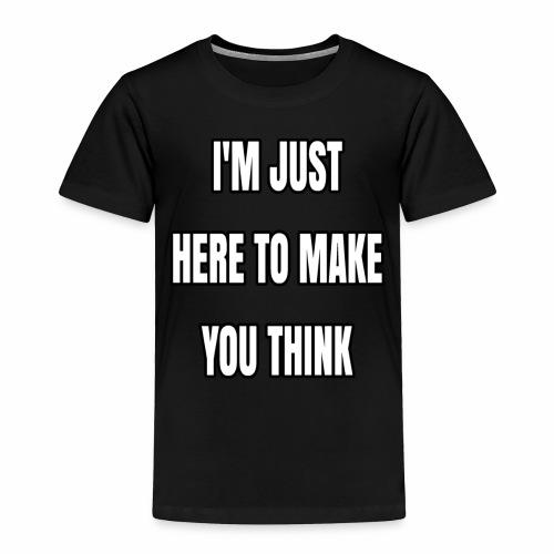 IJHTMYT (White Font) - Toddler Premium T-Shirt