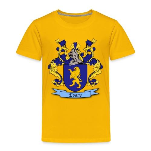 Evans Family Crest - Toddler Premium T-Shirt