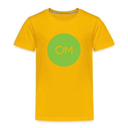 the om merch oficcial - Toddler Premium T-Shirt