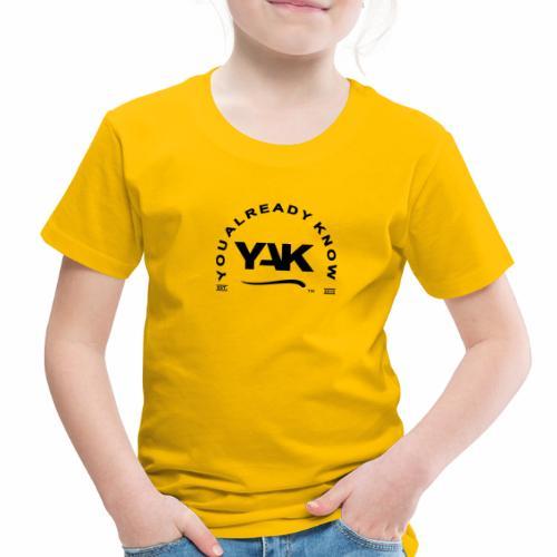 YAK Logos 10 - Toddler Premium T-Shirt