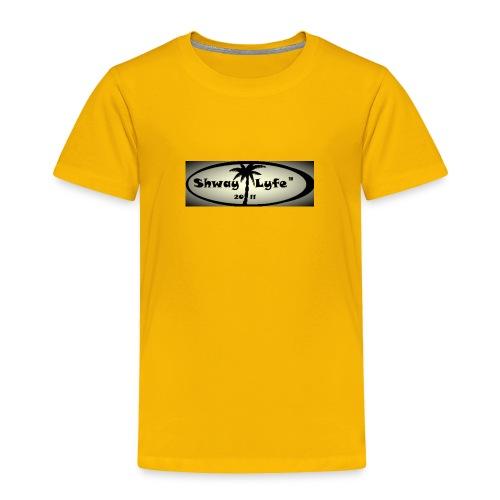 Shway Lyfe Logo - Toddler Premium T-Shirt