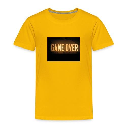game-over tops ect - Toddler Premium T-Shirt