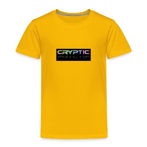 Cryptic Bonus Logo - Toddler Premium T-Shirt
