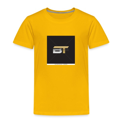 BT logo golden - Toddler Premium T-Shirt