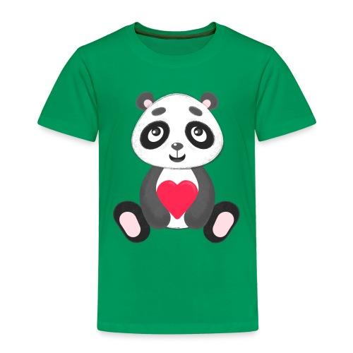 Sweetheart Panda - Toddler Premium T-Shirt