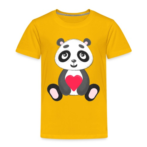 Sweetheart Panda - Toddler Premium T-Shirt