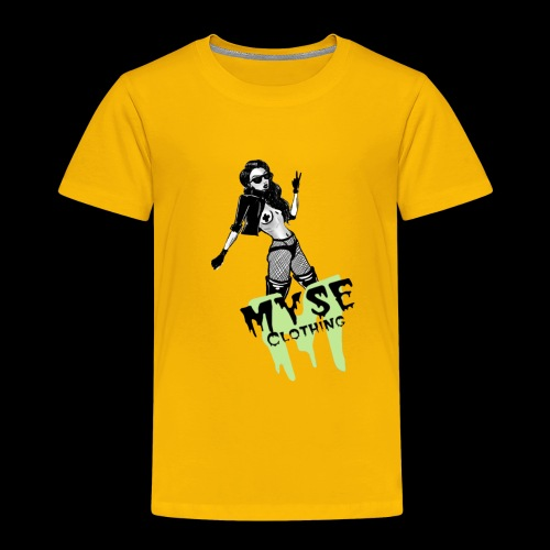 MYSE Clothing - badass babe - Toddler Premium T-Shirt