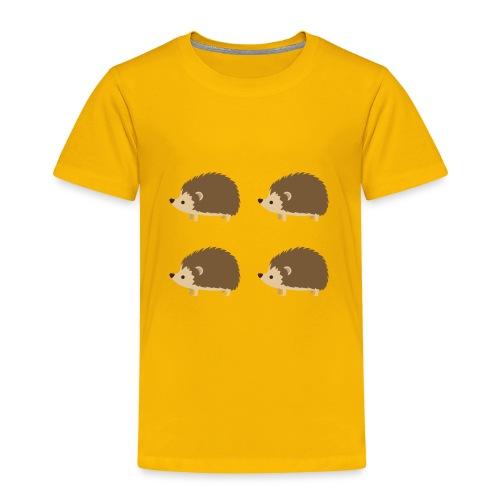 4up Hedgehogs - Toddler Premium T-Shirt