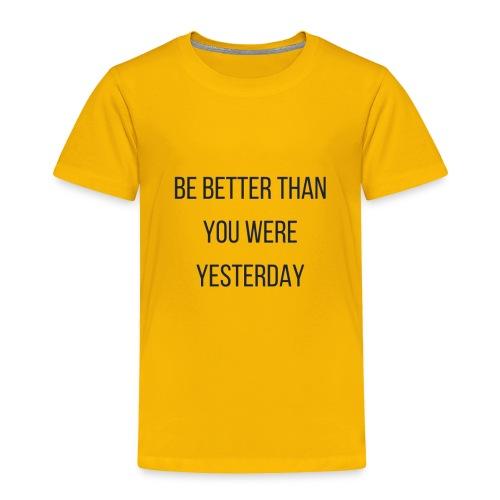Work Out Apparel - Toddler Premium T-Shirt