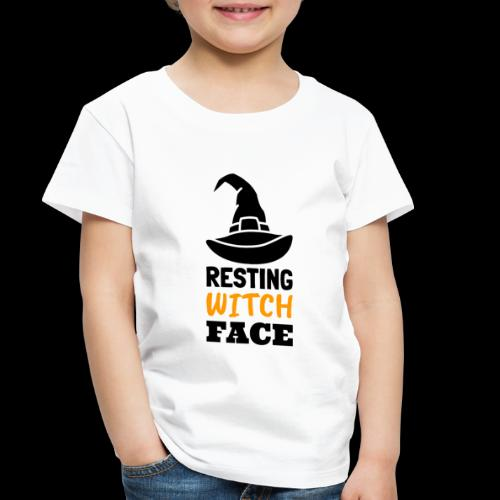 Resting Witch Face | Funny Halloween - Toddler Premium T-Shirt