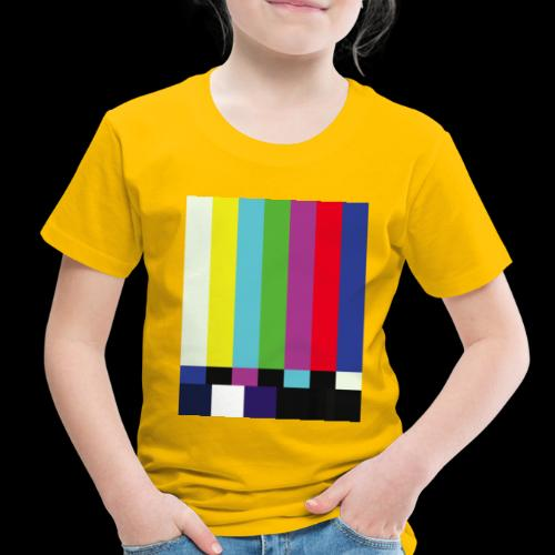 This is a TV Test | Retro Television Broadcast - Toddler Premium T-Shirt