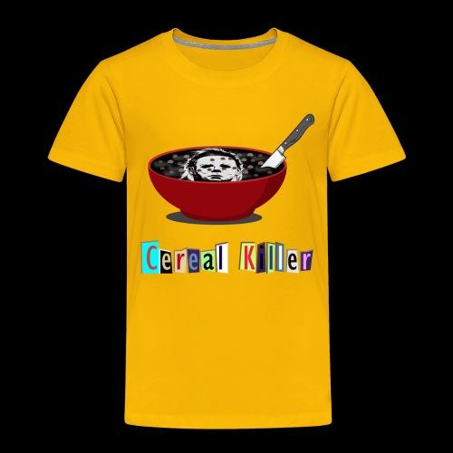 Cereal Killer | Funny Halloween Horror - Toddler Premium T-Shirt