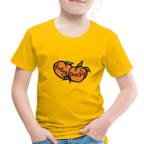 Feeling peachy - Toddler Premium T-Shirt