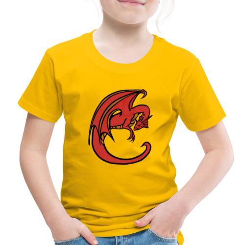 Red Dragon - Toddler Premium T-Shirt
