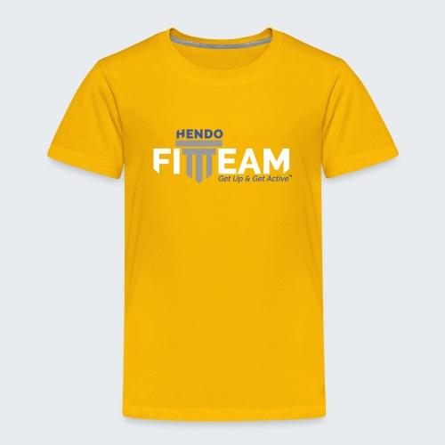 Signature HFT Stamp/White - Toddler Premium T-Shirt