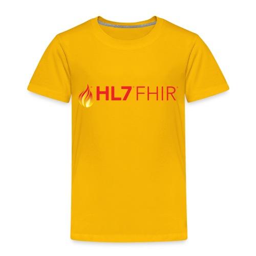 HL7 FHIR Logo - Toddler Premium T-Shirt
