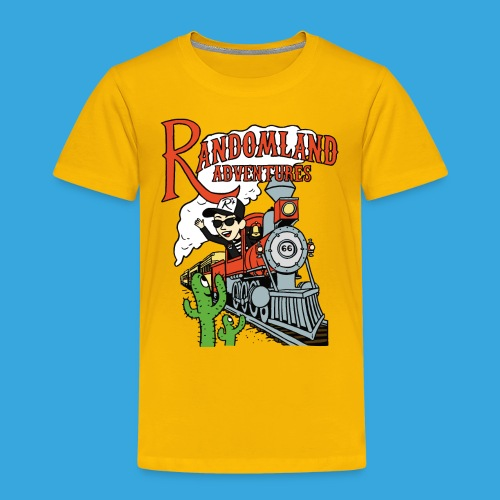 Randomland Railroad - Toddler Premium T-Shirt