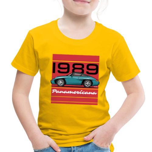 1989 P0r5che Panamericana Concept Car - Toddler Premium T-Shirt