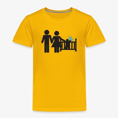 Family Autism Awareness - Toddler Premium T-Shirt