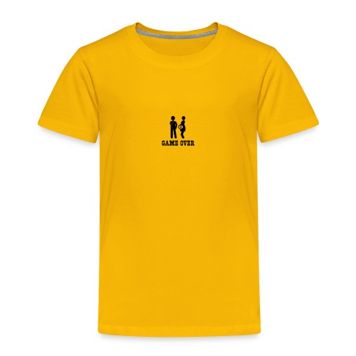 couple game over - Toddler Premium T-Shirt