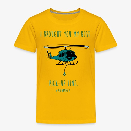 I brought you my Best Pick-up Line. - Toddler Premium T-Shirt