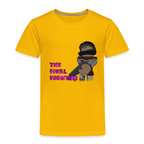 The Final Frontier Sports Items - Toddler Premium T-Shirt
