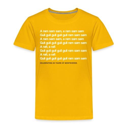 A Ram Sam Sam - Toddler Premium T-Shirt