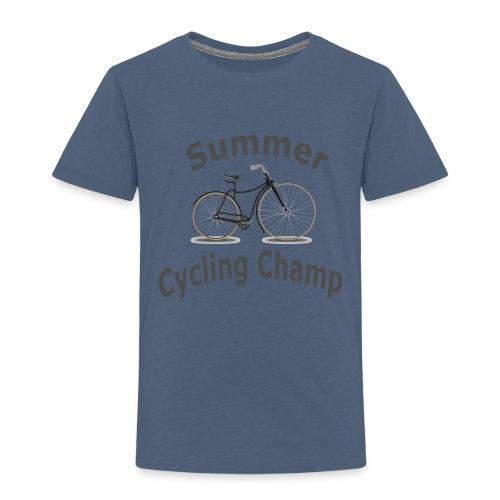 Summer Cycling Champ - Toddler Premium T-Shirt